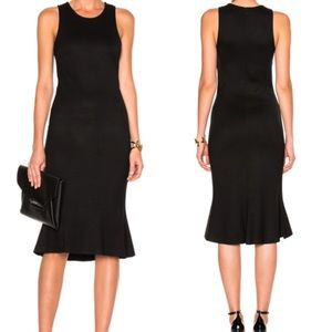 L'Agence Annalisa Sleeveless Trumpet Dress: Black